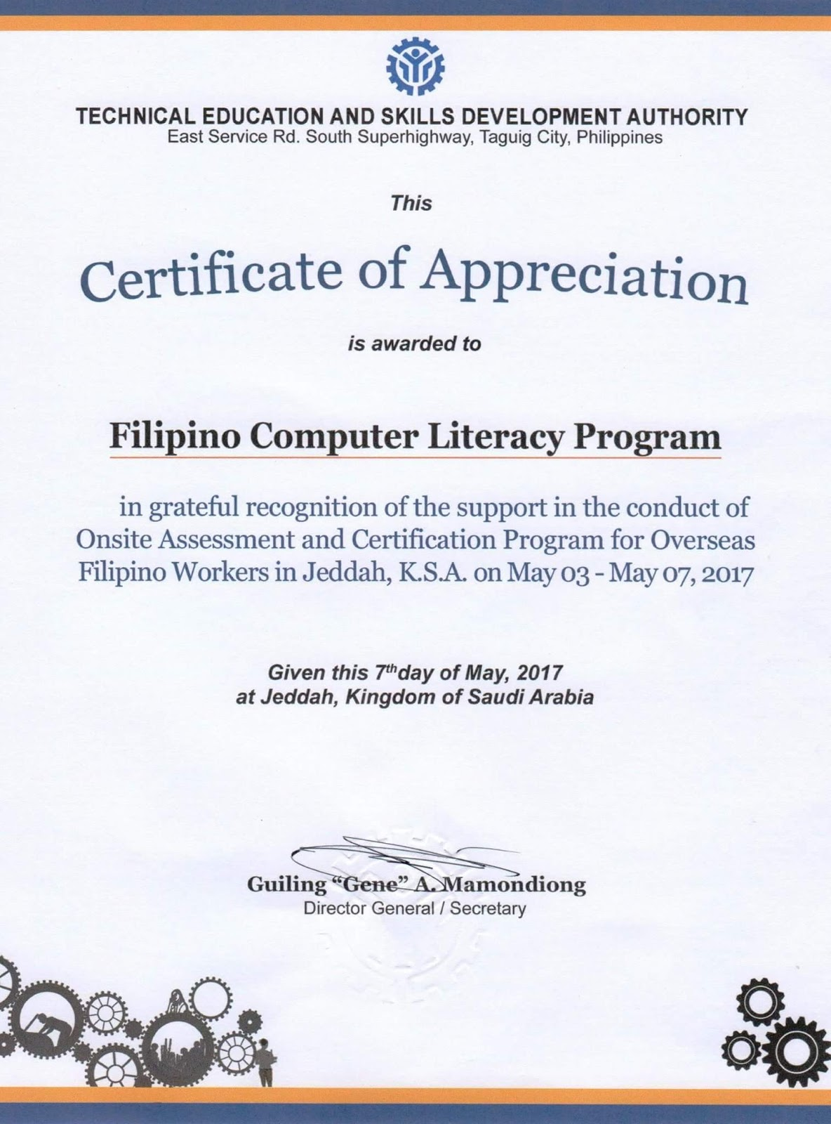 Filipino Computer Literacy Program Kabayan Mag Aral Na