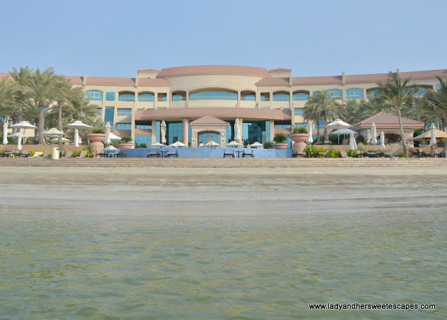 Al Raha Beach Hotel private beach