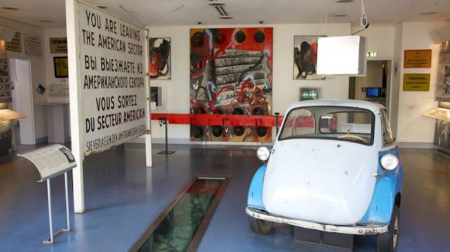 Museu do Checkpoint Charlie em Berlim