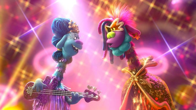 Trolls world Tours movie review and songs