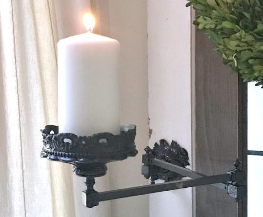 Repurposed candle holder