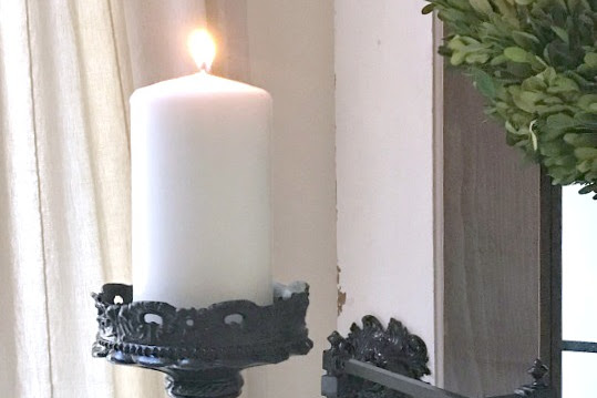 How to Make a Candle Holder from Lamp Parts