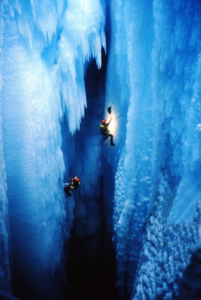Ice Canyon Greenland  The Amazing World