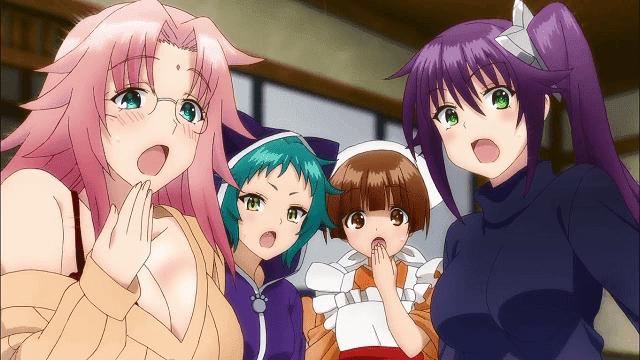 yuragi sou adalah anime harem 2018 akan tayang pada musim summer