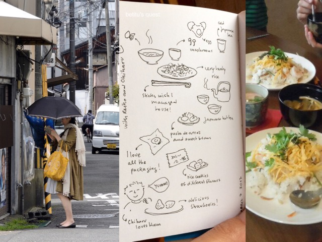 Japanese life on betitu's quest sketchbook