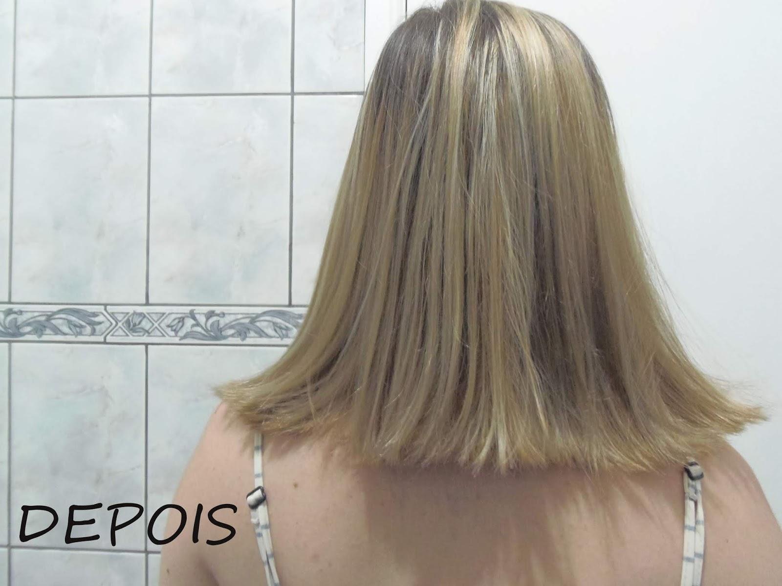 salvando cabelos amarelados