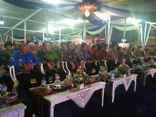 "Pagelaran Lampung Fair 2018 Resmi di Tutup ""Anjungan Lampung Barat Juara Harapan II"""