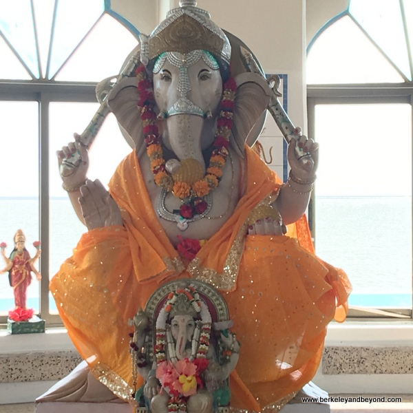elephant god statue at Temple in the Sea at Waterloo in Carapichaima, Trinidad