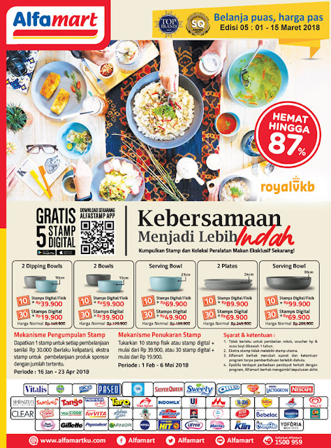 Katalog Brosur Promo Alfamart Edisi 1-15 Maret 2018
