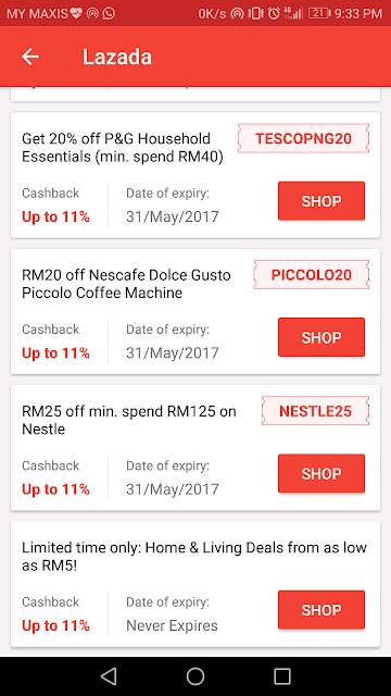 Berbelanja bijak dengan Shopback dan dapatkan cashback