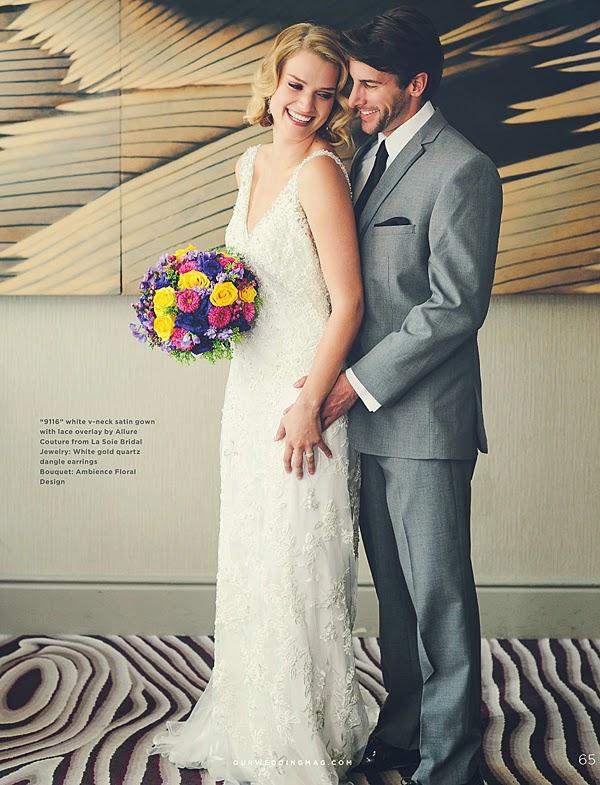 Delphine Winter - Noah Birk - Our Wedding - Cast Images