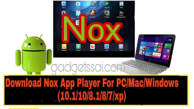 Nox app player for windows