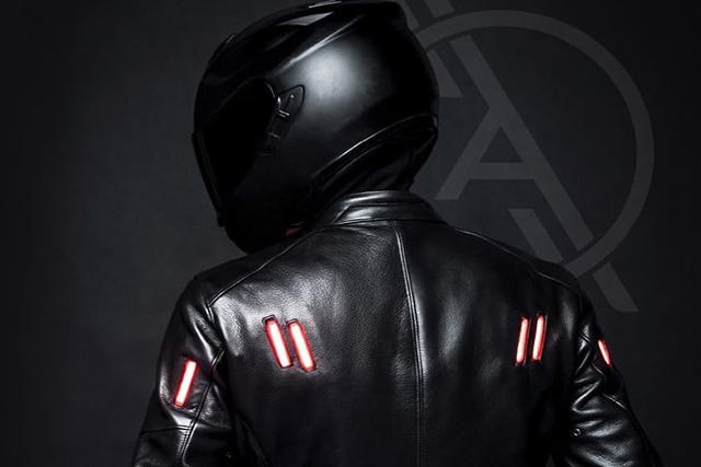 Inovasi terkini dunia Motor: Raylier Rilis Jaket dengan LED untuk Kemanan