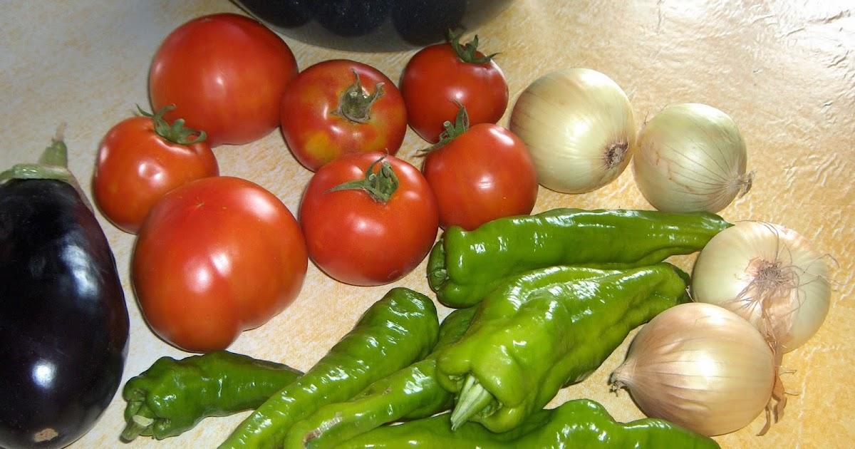 La cocina del huerto sofrito con berenjena - La cocina del 9 ...