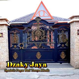 Desain, Pintu, Gerbang, Besi, Tempa, Klasik, Rumah, Mewah