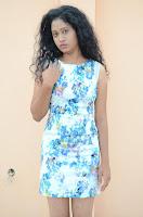 Actress Priyankha Stills in Floral Short Dress at Golmal Gullu Movie Pressmeet 0187.JPG