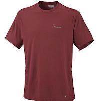 columbia mountain tech 2 men's tall moisture wicking shirt