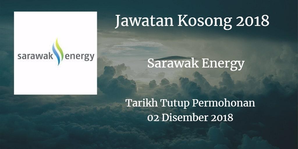 Jawatan Kosong Sarawak Energy 02 Disember 2018