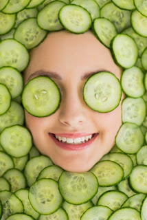 Tips to Make Face Masks from cucumber For Facial Beauty - 1