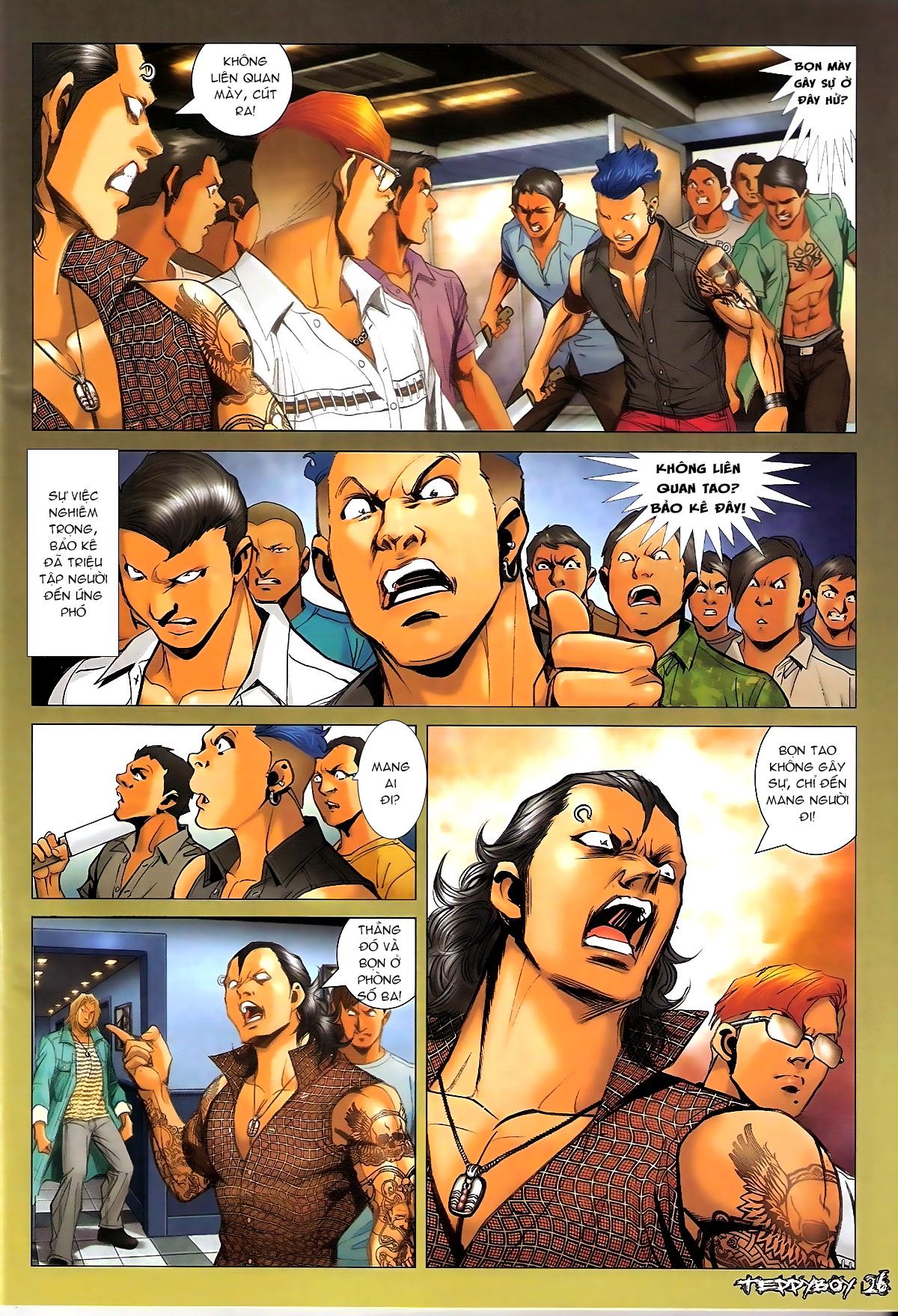 Người Trong Giang Hồ - Chapter 1329: Thằng hèn - Pic 23