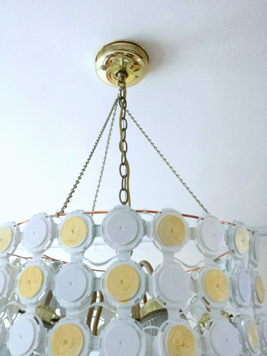 Upcycle: Craft beer chandelier   the ReFab Diaries