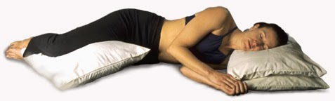 Adopt a Side-ways sleeping position to avoid back pain