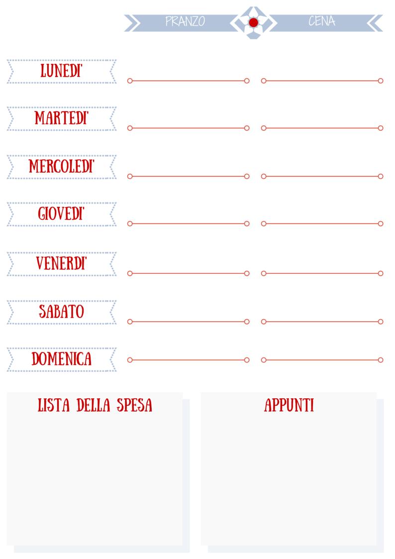 Preferenza Martissima: Organizzazione e Decorazione dell'Agenda: #1 L  IJ85