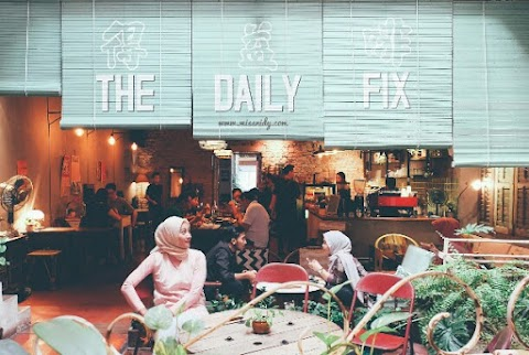 The Daily Fix Cafe - Vintage Cafe di Melaka