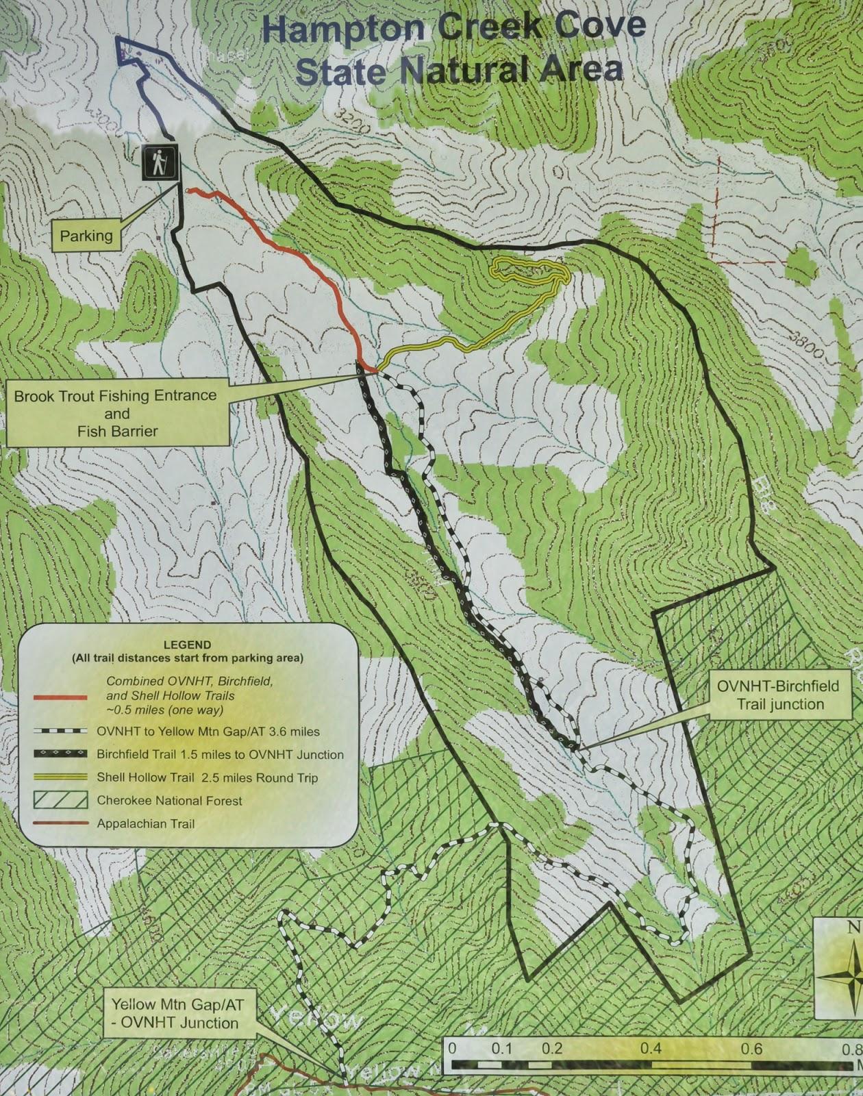 Trout Fishing In Tennessee Map.Appalachian Treks Hampton Creek Cove