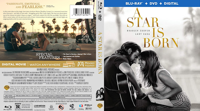 A Star Is Born Bluray Cover