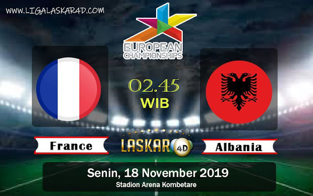 Prediksi Skor Bola Albania Vs France 18 November 2019