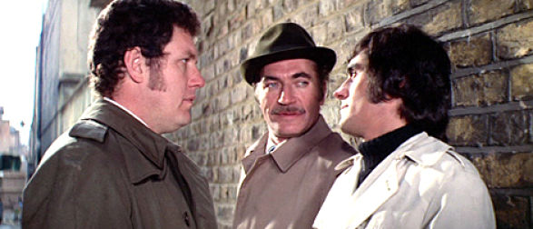 Colin Welland, Nigel Davenport and Ian McShane