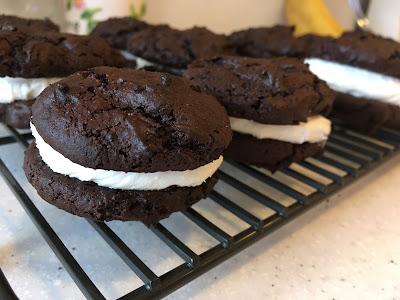 Gluten Free Chocolate Whoopie Pies