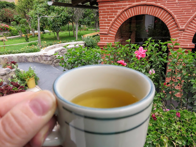 Coca tea: Ollantaytambo is a great place to acclimate to the altitude in the Sacred Valley of Peru