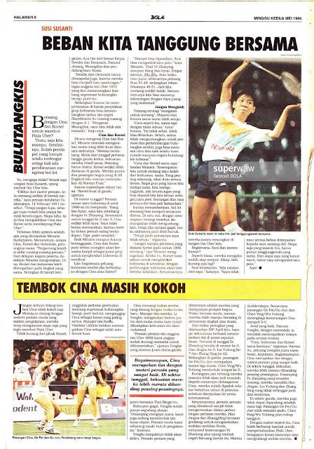 Tabloid BOLA EDISI 532 MINGGU KEDUA MEI 1994
