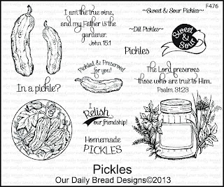 Our Daily Bread Designs, Pickles