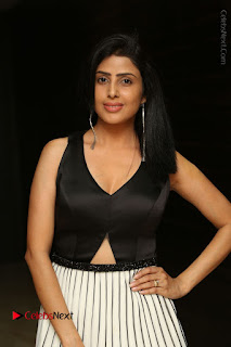 Actress Pragya Stills Beautiful Long Dress at RGV Shiva to Vangaveeti Event  0008.JPG