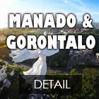 paket tour manado dan gorontalo