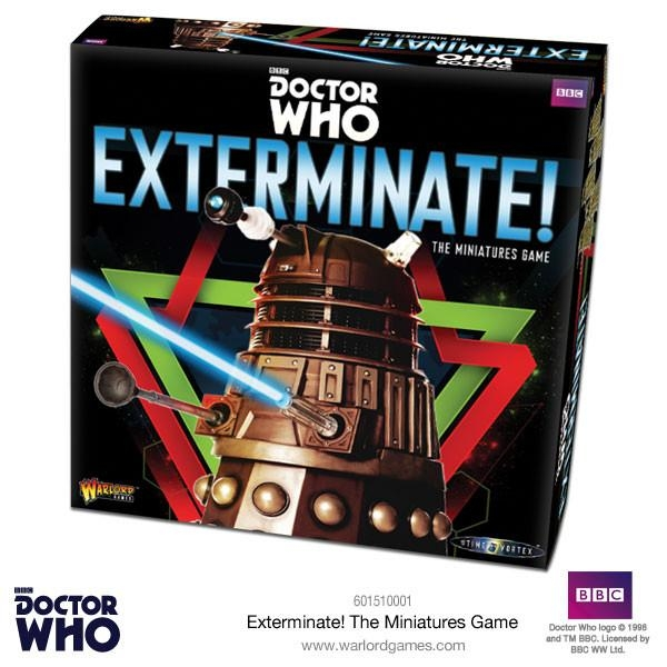 Wayland Games: New Exterminate! Dr Who Miniatures Game