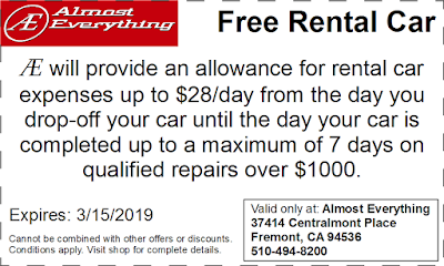 Coupon Free Rental Car February 2019