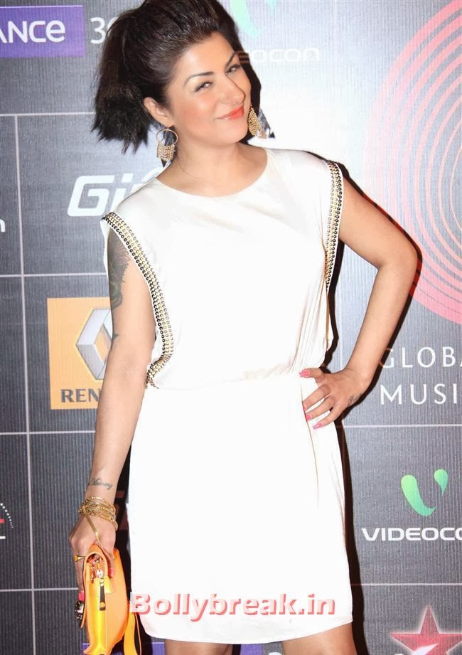 Hard Kaur at Global Indian Music Awards 2014