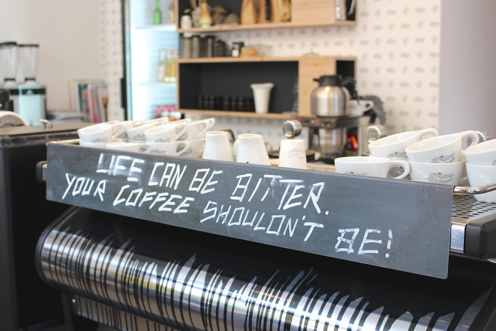 Man Versus Machine coffee quote Munich