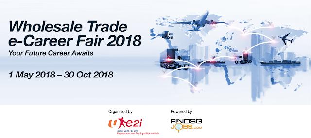 Wholesale trade e-Career Fair till 30 Oct 2018