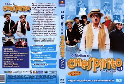 Série O Melhor do Chespirito Volume 1 DVD Capa