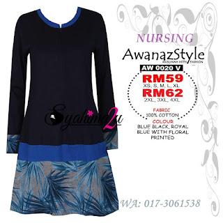 T-Shirt-Muslimah-Awanazstyle-AW0020V