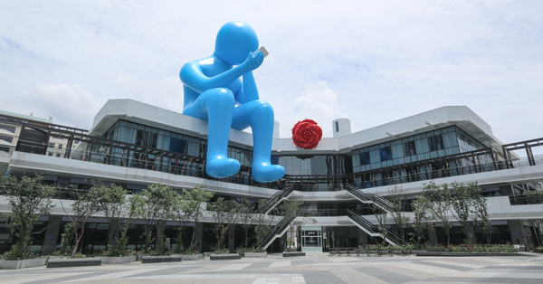 台中大里|台中軟體園區Dali Art藝術廣場|東湖公園|超多藝術創作品等大家來拍照