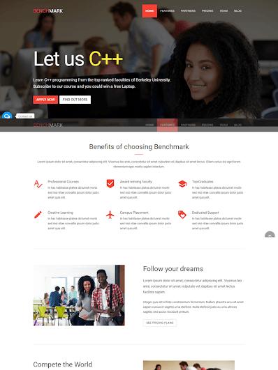Landing Page giáo dục giới thiệu khóa học online