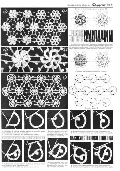 Tutorial Espirales de Crochet
