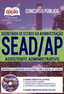 Download Apostila Concurso SEAD AP 2018 PDF