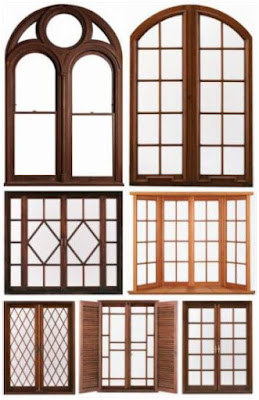 contoh desain model kusen jendela kamar tidur